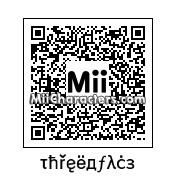 QR Code for Three Face Boy by Dow The Clow
