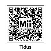 QR Code for Tidus by Chrisrj