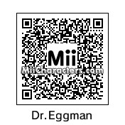 QR Code for Dr. Eggman by J1N2G