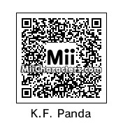 QR Code for Kung Fu Panda by Toon and Anime