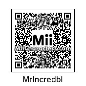 QR Code for Mr. Incredible by 5p3nc3r