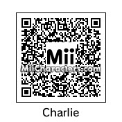 QR Code for Charlie Sheen by Dylan Ptolemy