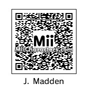 QR Code for John Madden by Eben Frostey