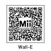 QR Code for WALL-E by NES-MAN
