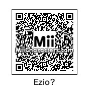 QR Code for Ezio Auditore by Eben Frostey