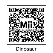 QR Code for Dinosaur by B1LL