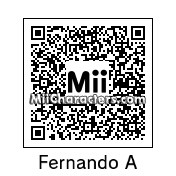 QR Code for Fernando Alonso by eldani008