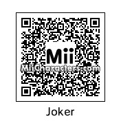 QR Code for The Joker by Topher