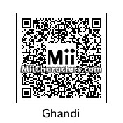 QR Code for Mahatma Gandhi by J.G.