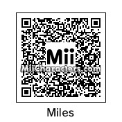 QR Code for Miles Edgeworth by Azul