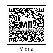 QR Code for Midna by Akuru