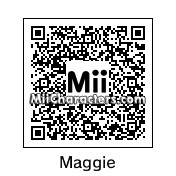 QR Code for Maggie Simpson by Pete