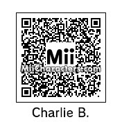 QR Code for Charlie Brown by DavMertzHand