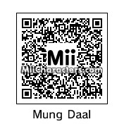 QR Code for Mung Daal by Toon and Anime