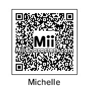 QR Code for Michelle Obama by Silas Mann
