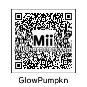 QR Code for Glowing Pumpkin by ET