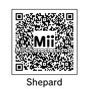 QR Code for Shepard (Female) by Brunosky Inc