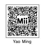 QR Code for Yao Ming by Eiinstein