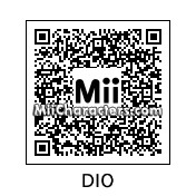 QR Code for Dio Brando by manfist