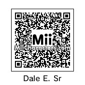 QR Code for Dale Earnhardt, Sr. by Hedgie