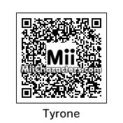 QR Code for Tyrone by J1N2G