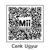 QR Code for Cenk Ugyur by Carthage