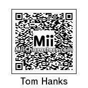 QR Code for Tom Hanks by Techno Tater