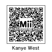 QR Code for Kanye West by Afro Jesus