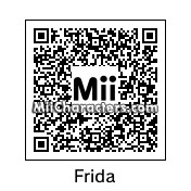 QR Code for Frida Kahlo by Afro Jesus