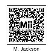 QR Code for Michael Jackson by Kevin