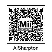 QR Code for Reverend Al Sharpton by Yao Ming