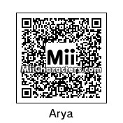 QR Code for Arya Stark by Lunatic