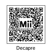 QR Code for Decapre by Eben Frostey