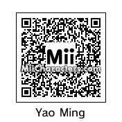 QR Code for Yao Ming by X325