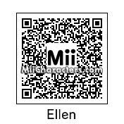 QR Code for Ellen DeGeneres by 1837263