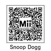 QR Code for Snoop Dogg by J1N2G