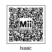 QR Code for Isaac by J1N2G
