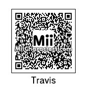 QR Code for Travis Barker by Mordecai