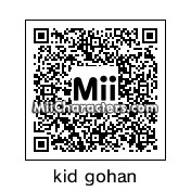 QR Code for Kid Gohan by dbzmii creator
