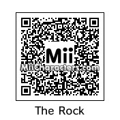 "QR Code for Dwayne ""The Rock"" Johnson by papi"