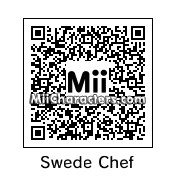 QR Code for The Swedish Chef by Ultra