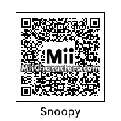 QR Code for Snoopy by Doodah
