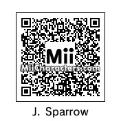 QR Code for Captain Jack Sparrow by sylvain