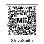 QR Code for Steve Smith by Cpt Kangru