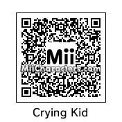 QR Code for Crying Child by Pod