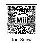 QR Code for Jon Snow by Jayson