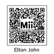 QR Code for Elton John by ilnerz