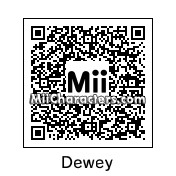 QR Code for Dewey by Mike Rowe