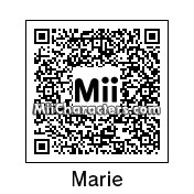 QR Code for Marie by Kuroi
