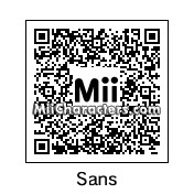 QR Code for Sans by TimeLordAaron